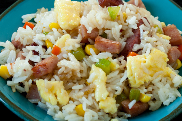 spam fried rice image